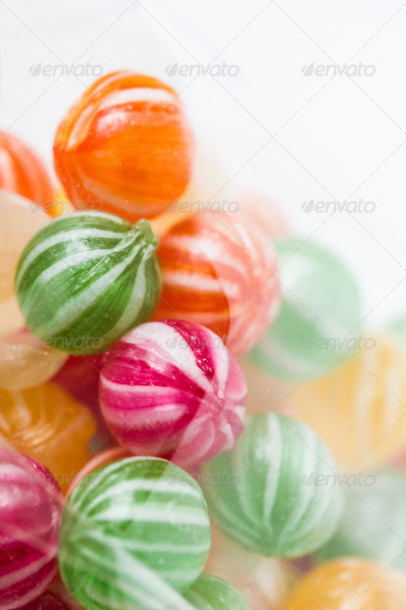 PhotoDune colorful round candies 3720396