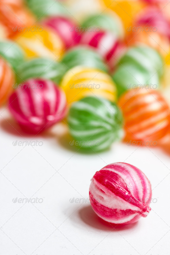 PhotoDune colorful round candies 3720404