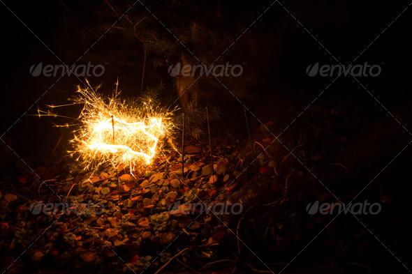 PhotoDune sparkler 3720407