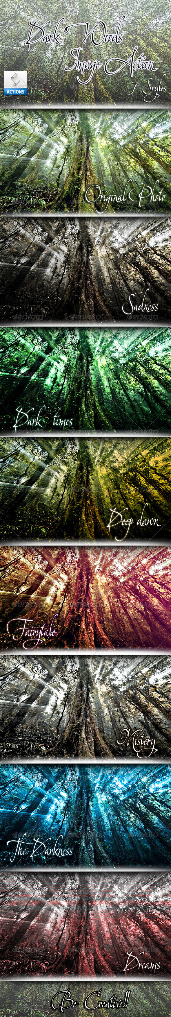 GraphicRiver Dark Woods Actions 3720342