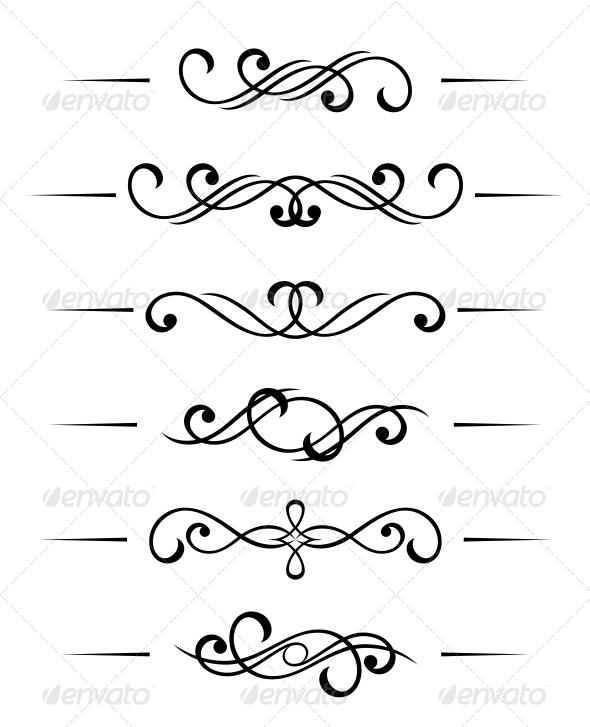 GraphicRiver Swirl Elements 3720351