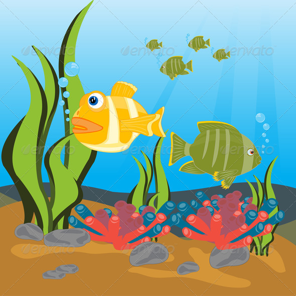 PhotoDune Tropical fishes seaborne 3720437