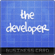 The Developer Business Card - GraphicRiver Item for Sale