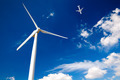 Wind Turbine and Airplane - PhotoDune Item for Sale