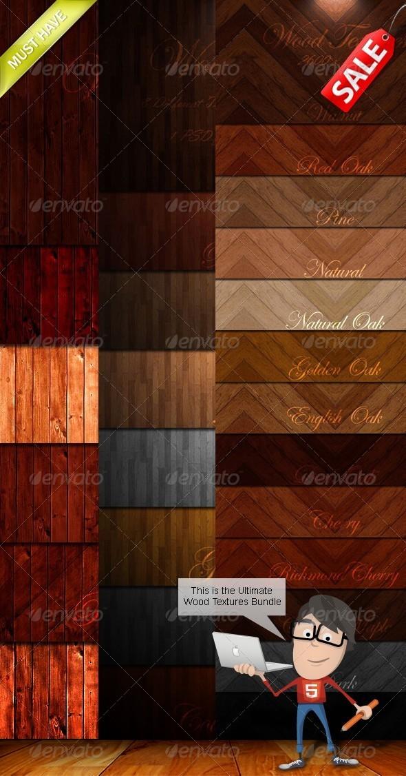 Wood Textures Bundle - Wood Textures