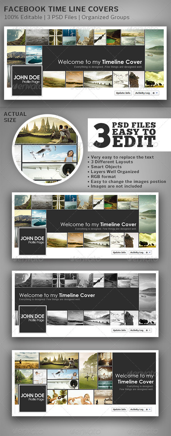 GraphicRiver FB Timeline Covers 3672919