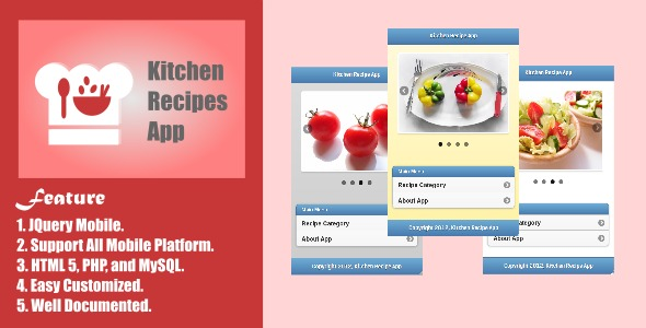 Kitchen Recipe App