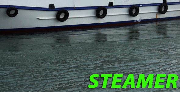 Steamer VideoHive Stock Footage  Industrial 3721376