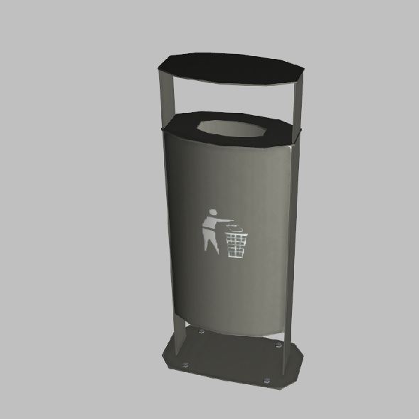 Public Trash - 3DOcean Item for Sale