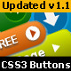 CSS3 Premium Button Pack