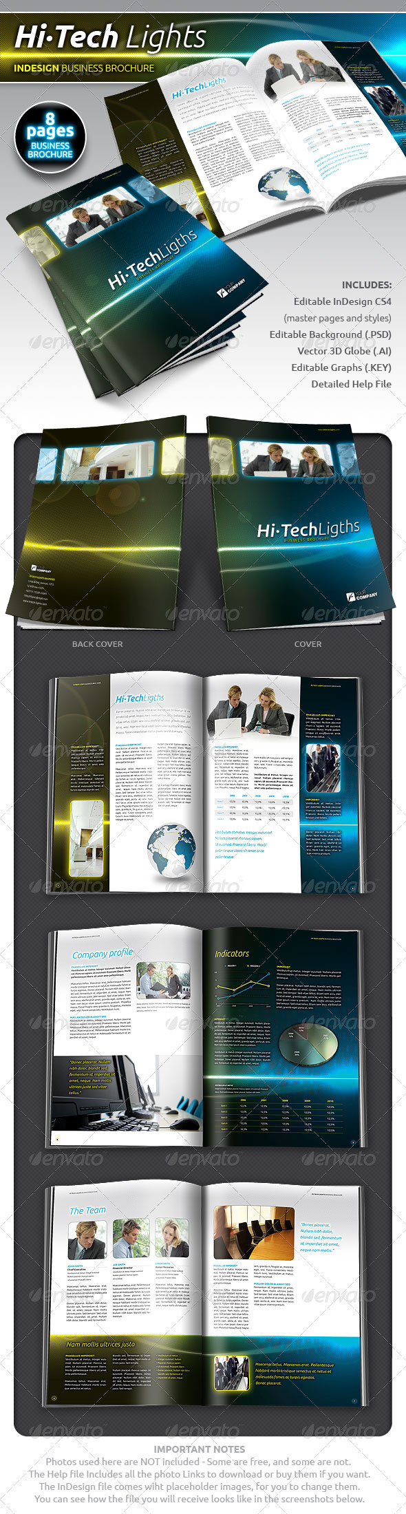 Hi-Tech Lights Business Brochure - Corporate Brochures