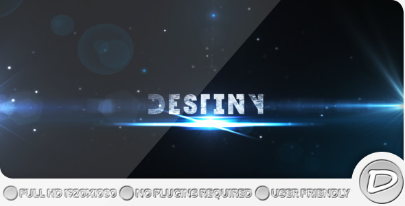 After Effects Project - VideoHive Destiny Project 242240