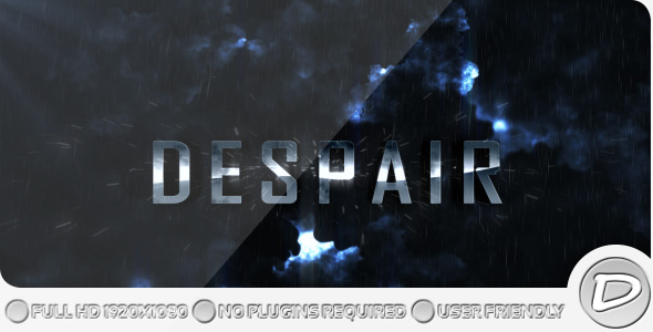 After Effects Project - VideoHive Despair 372011