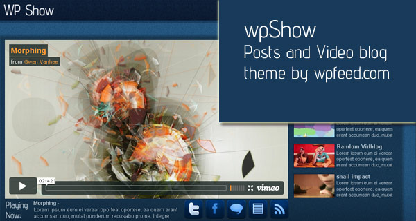wpShow  - A promo image