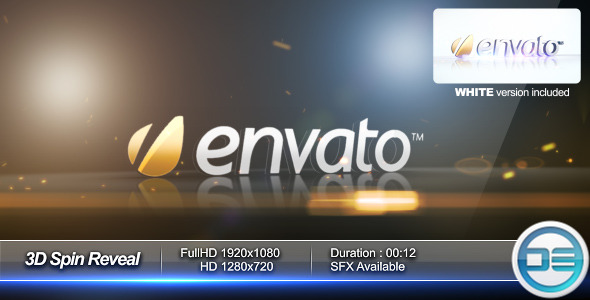 After Effects Project - VideoHive 3D Spin Reveal 400753