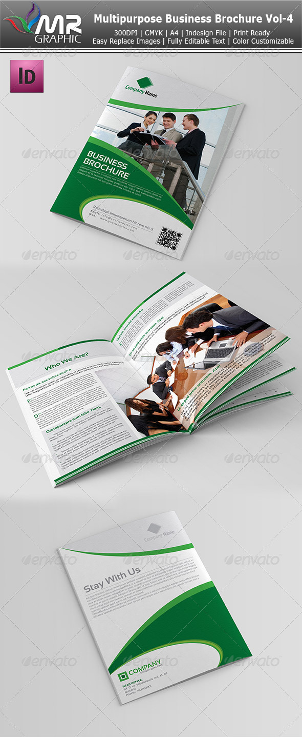 GraphicRiver Multipurpose Business Brochure Vol-4 3725035