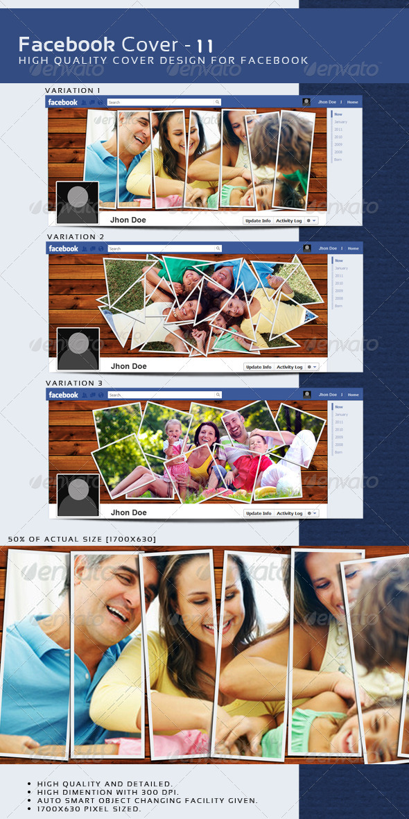 GraphicRiver Facebook Timeline Cover 11 3725108