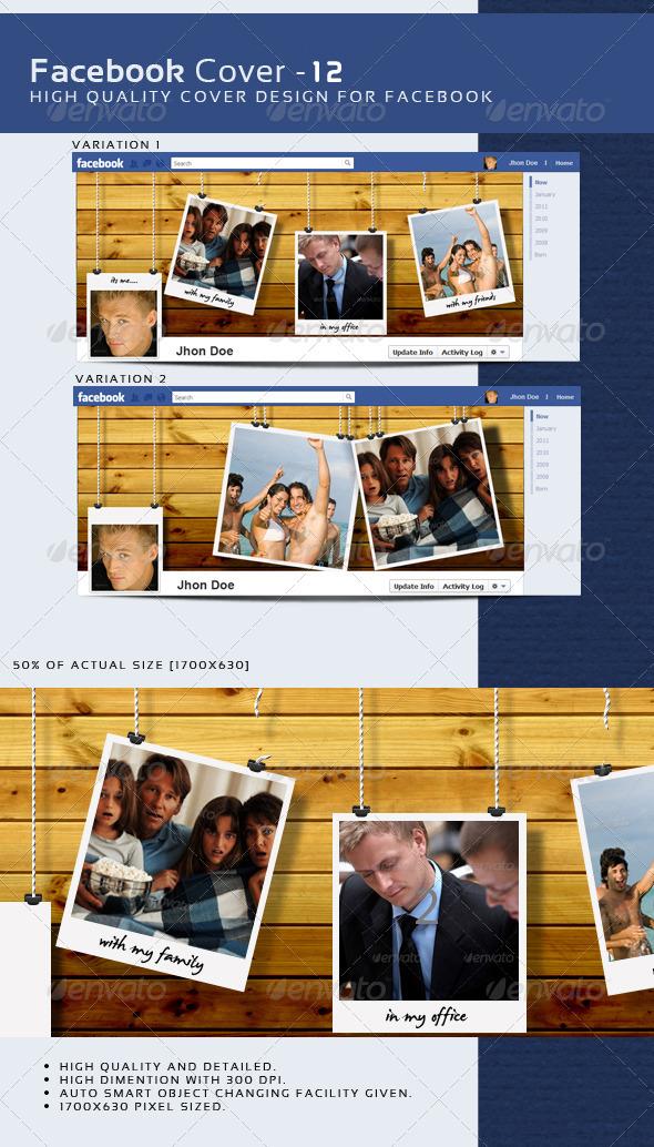 GraphicRiver Facebook Timeline Cover 12 3725259