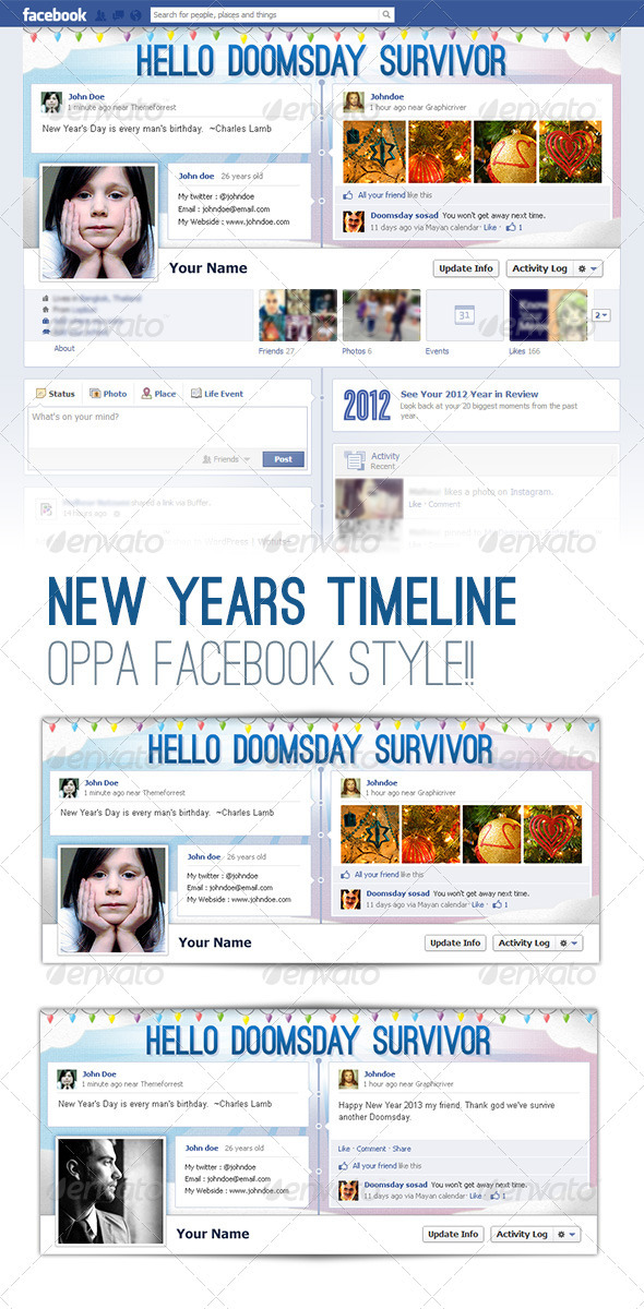 GraphicRiver FB Cover Timeline 3677638