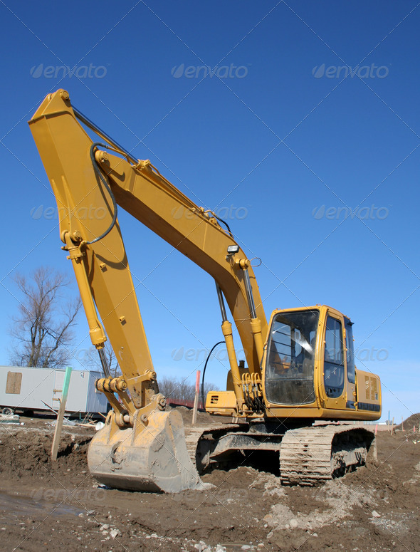 PhotoDune Imposing Backhoe 4242425