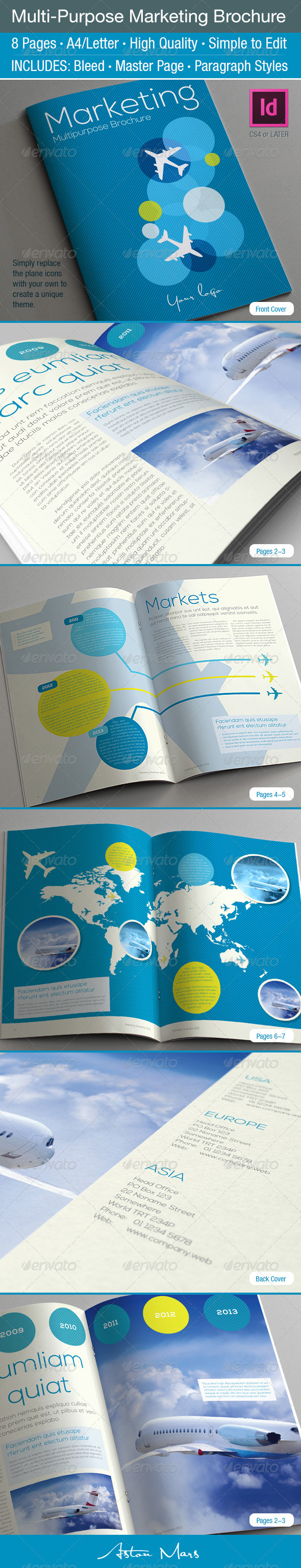 GraphicRiver Multi-Purpose Marketing Brochure 3726707