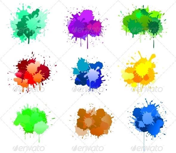 GraphicRiver Ink Blots 3727434