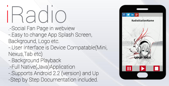 CodeCanyon Internet Radio App With Device Compatible UI 3727900