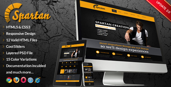 Spartan - Responsive Multi-Purpose Web Template