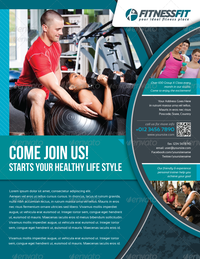 Fitness Flyer Vol7 by kitcreativestudio – Fitness Flyer