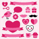 Valentine's Vector Design Elements Set - GraphicRiver Item for Sale