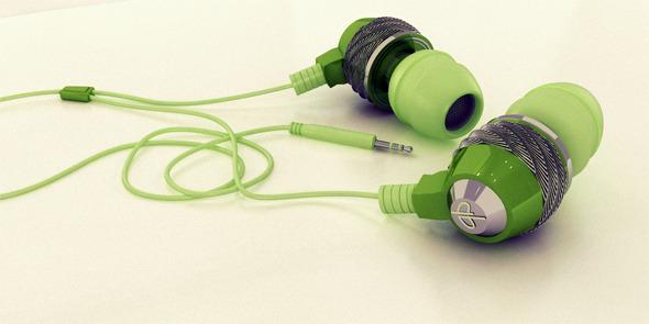 3DOcean Stylish Realistic Headphones 3726723