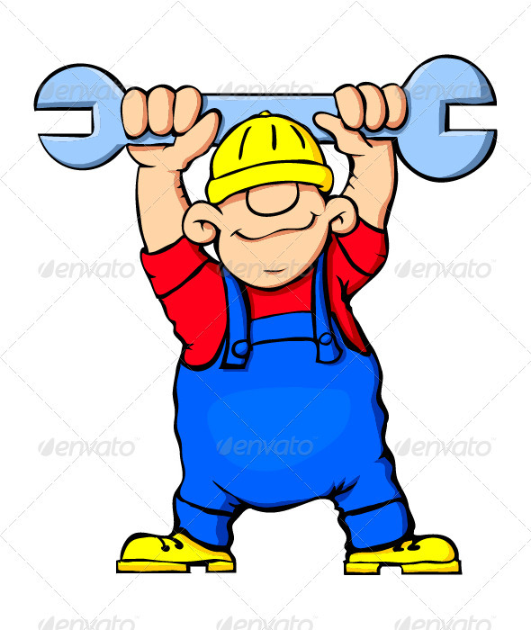 Construction Worker - People Characters