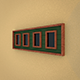 Realistic Modern Wood Picture Frame - 3DOcean Item for Sale
