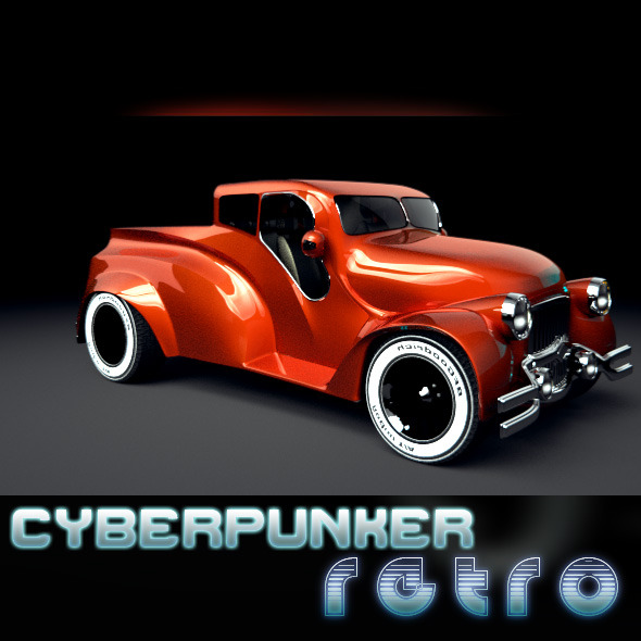 Cyberpunker Retro - 3DOcean Item for Sale