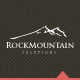 Rock Mountain - Simple Logo For Your Company - GraphicRiver Item for Sale