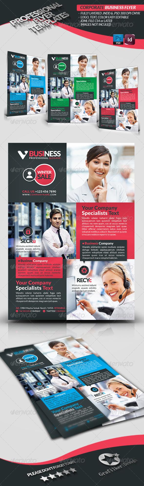 GraphicRiver Corporate Business Flyer 3729986