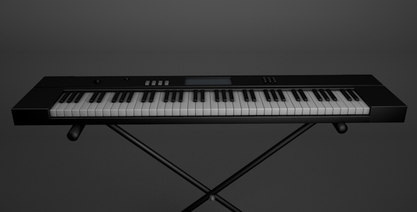 3DOcean Realistic Electric Piano 3730354