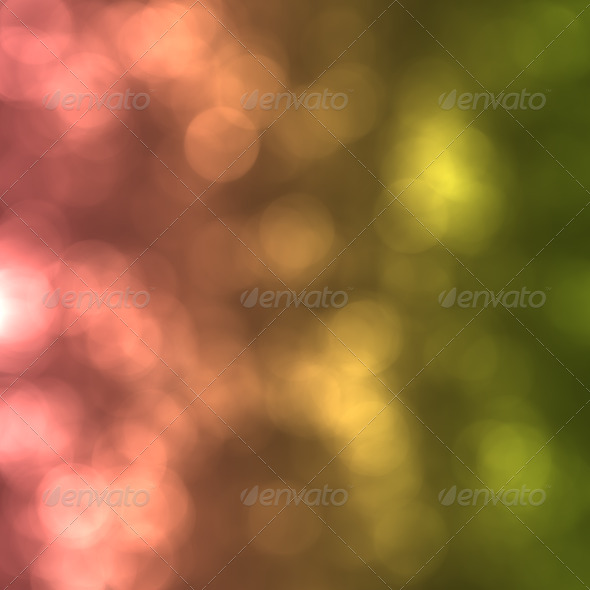 Abstract background green bokeh circles - Stock Photo - Images