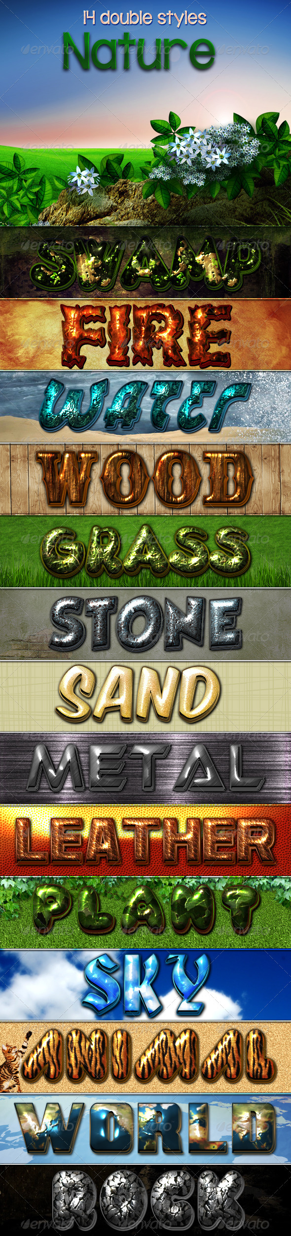 GraphicRiver Nature Styles 3730897