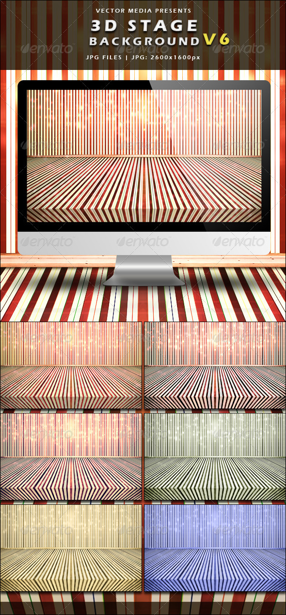 GraphicRiver 3D Stage Background Vol.6 3731522