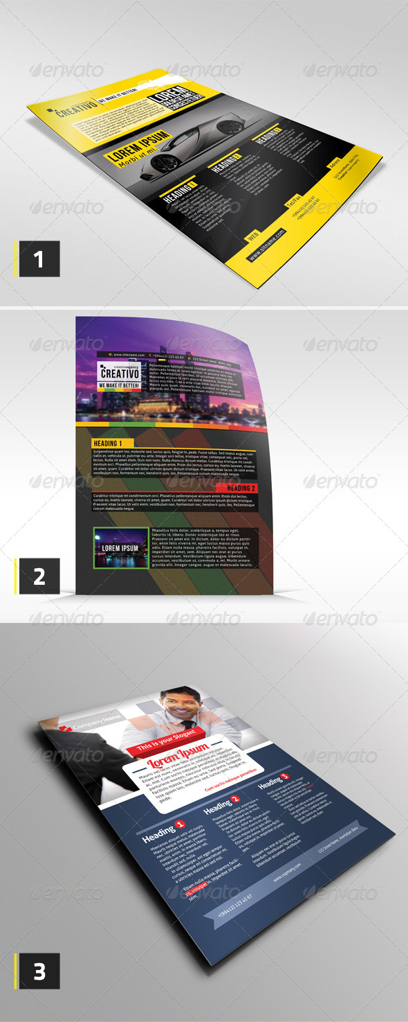Corporate Flyer Bundle #1 - Corporate Flyers