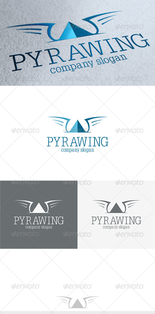 GraphicRiver Pyrawing Logo 3689108