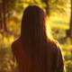 Girl Walking In The Forest - VideoHive Item for Sale
