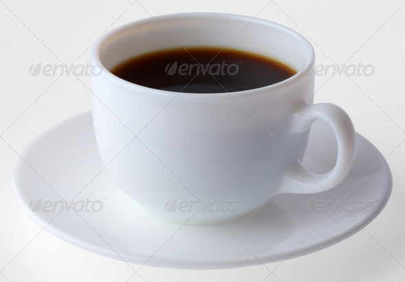 PhotoDune Coffee cup and plate 3732463