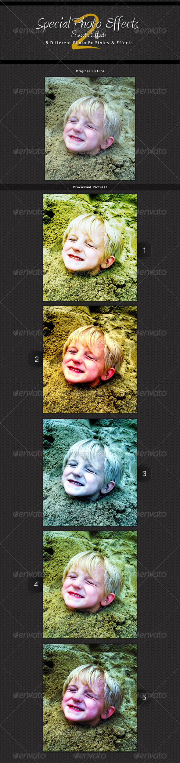 GraphicRiver Special Photo Effects 2 smooth Actions 3609309