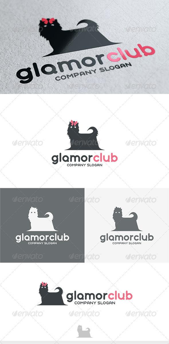 GraphicRiver Glamor Club Logo 3732842