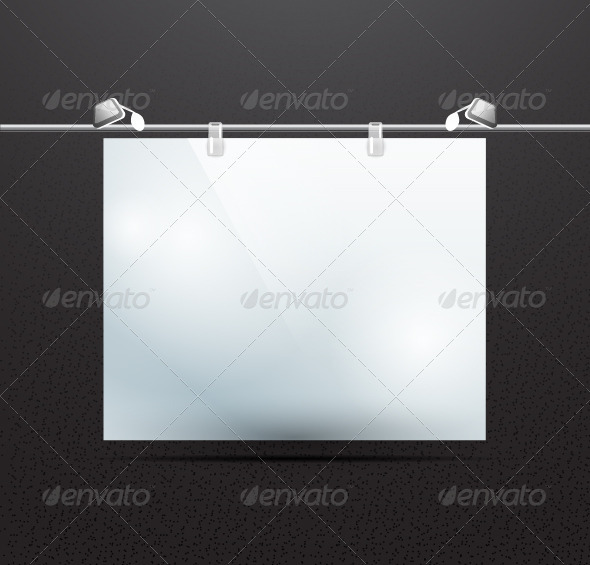 GraphicRiver Vector Projection Screen 3736239