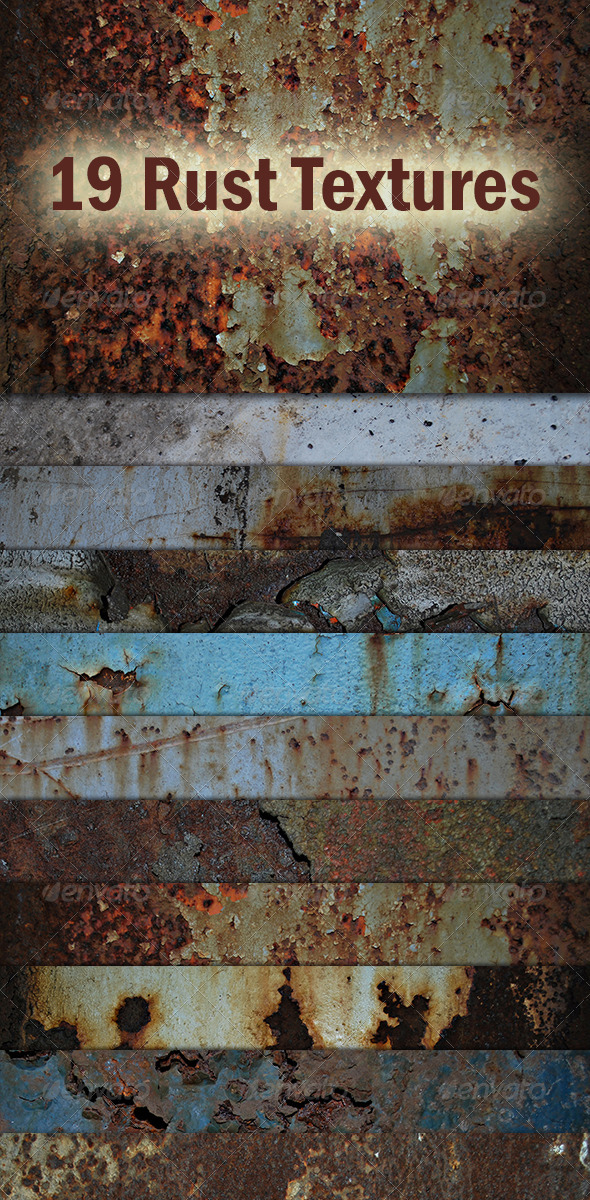 GraphicRiver Rust Textures 3704794