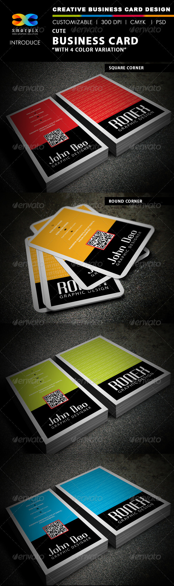 Cute Business Card - Creative Business Cards
