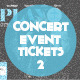 Concert & Event Tickets/Passes - Version 2
